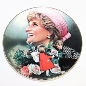 England's Rose by Drew Art Deco plate Princess Di